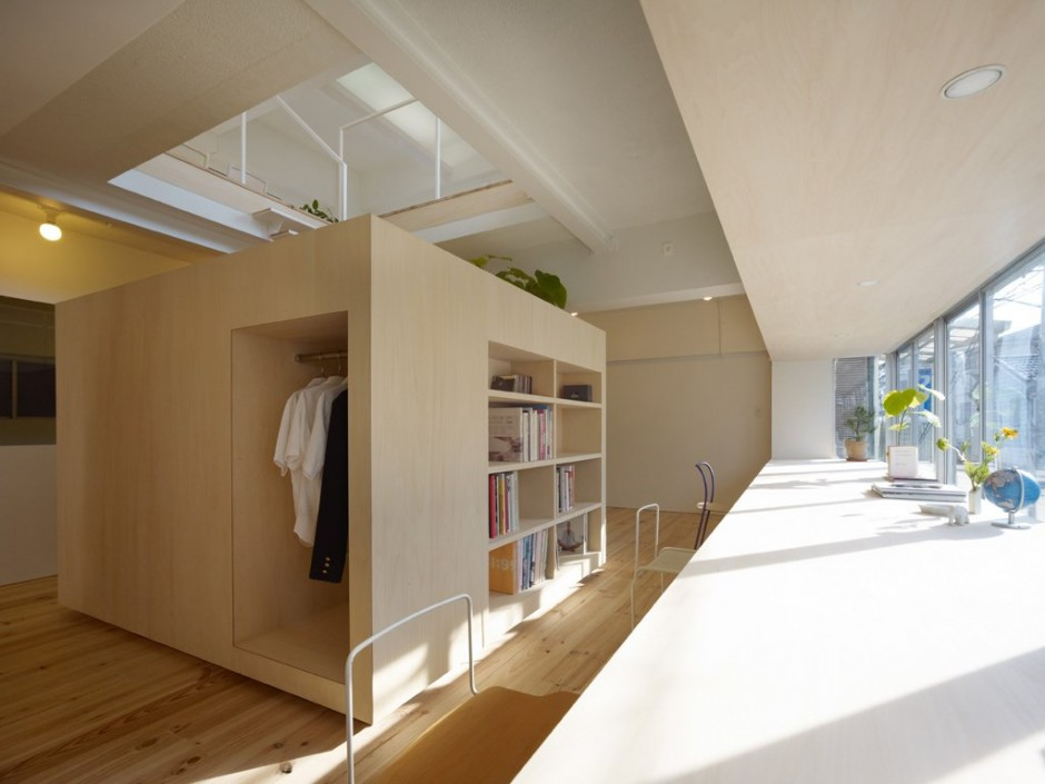 Amazing Simple House in Megurohoncho Design by Torafu Architects Decoration Ideas. Simple  House simple home design ideas