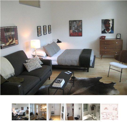 Amazing Small Cool 2009: Nicku0027s Smart Small Space. Studio LivingStudio AptStudio ... furniture for small studio apartment