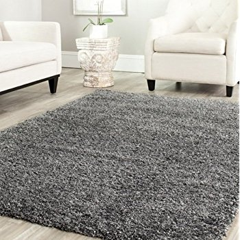 Amazing This item Safavieh Cozy Shag Rug, 4 by 6 feet, Dark Gray gray shag carpet