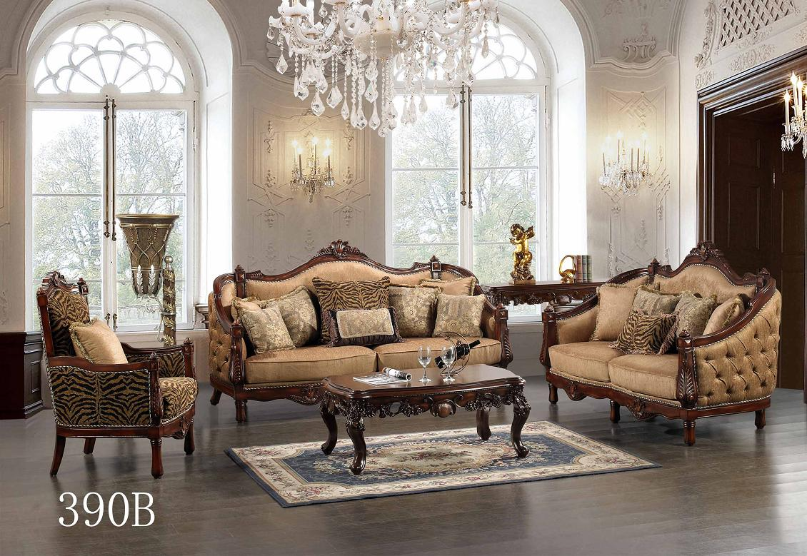 Amazing Traditional European Design Formal Living Room Sofa Set W/ Carved . traditional living room furniture sets
