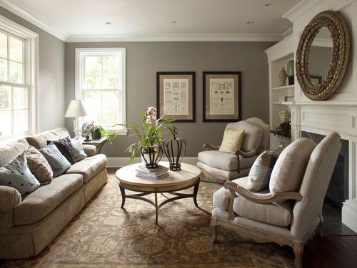 Amazing Traditional Living Room by San Jose Architects u0026 Designers Arch Studio, Inc. best living room paint colors