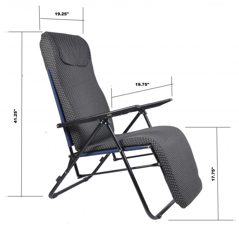 Amazing Tulip Recliner Chair - Black. Close tulip recliner chair