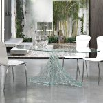 Enhance your kitchen with some best glass dining room sets