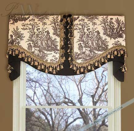 Amazing Unique Window Treatment Ideas | Board Mounted Valance | Window Treatment window valance ideas