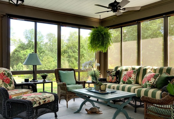 Amazing View in gallery sunroom furniture ideas sunroom furniture layout ideas