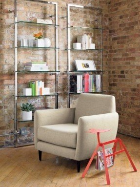 Amazing Wow HGTV. I like your style! Youu0027ve posted 2 items glass shelving units living room