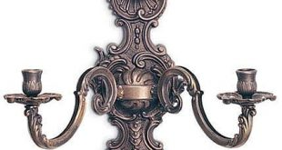 Awesome antique brass wall candle holder antique wall candle holders