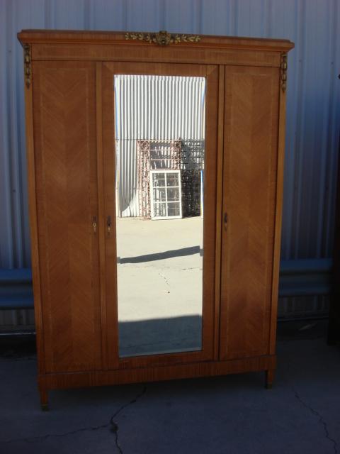 Stunning Antique Armoire Antique Wardrobe French Antique Furniture antique wardrobe with mirror