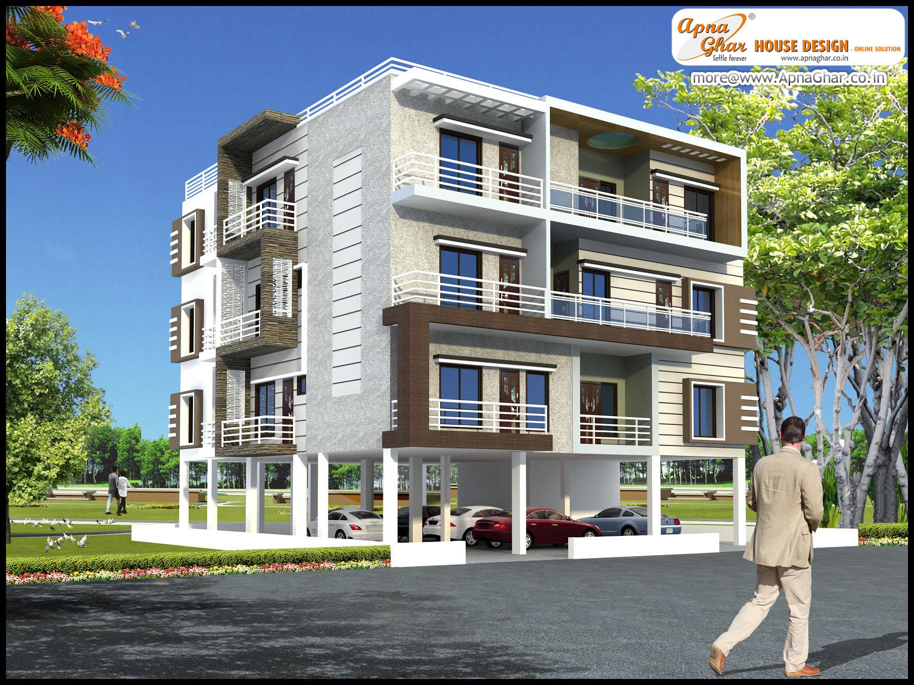 Master Modern Apartment Exterior Design An Online Complete Architectural Solution  Provider Company Click apartment design exterior