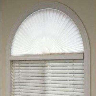 Cute Pleated Arch Shade arch window shade