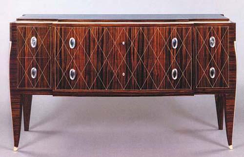 Cozy Furniture Art Deco Cabinet Style