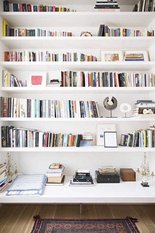 Awesome 25+ best ideas about White Wall Shelves on Pinterest | Corner wall shelves, white bookshelves for wall