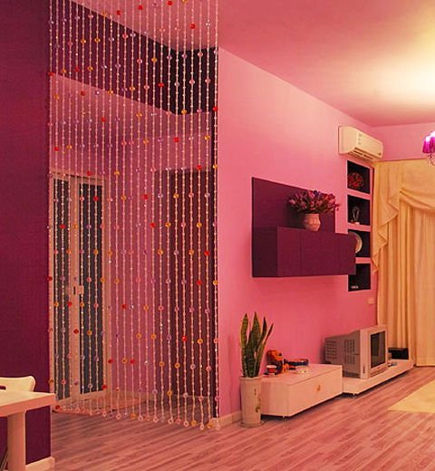 Awesome beaded curtain alternative : ... uk: Transform boring and dull to stylish beaded closet curtains