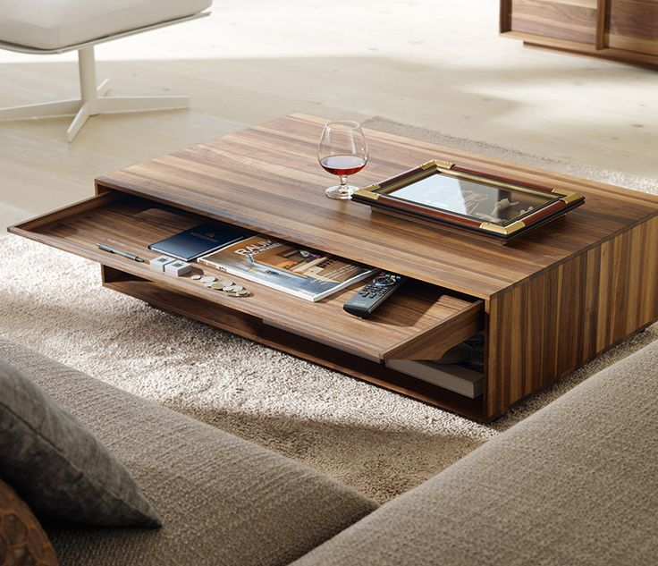 Awesome Hide away your living room clutter with this coffee table living room center table