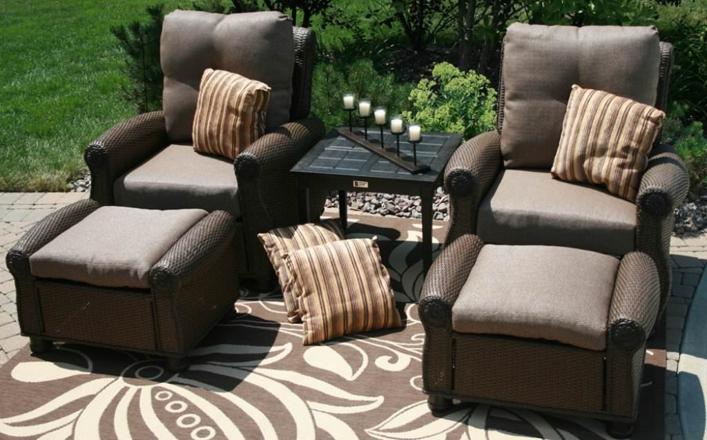 Awesome Image of: All Weather Wicker Patio Furniture Clearance - The Amazing Of outdoor furniture clearance