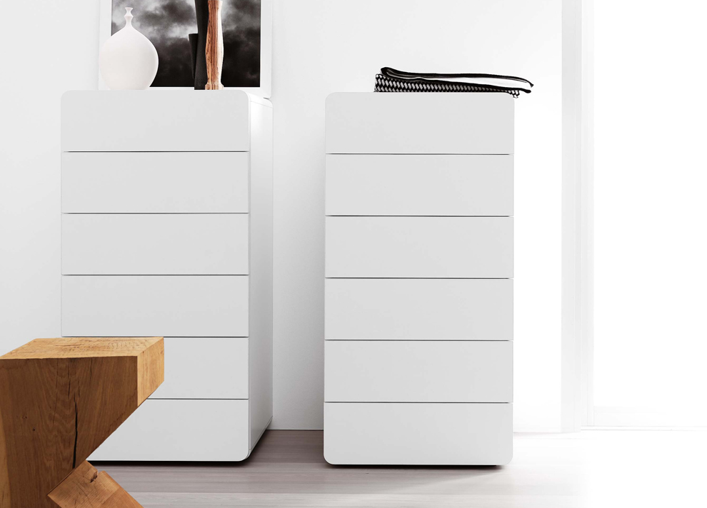Awesome Novamobili Bend Tall Chest of Drawers. Bend Tall Chest of Drawers Modern white tall chest of drawers