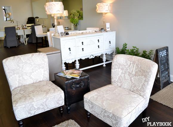 Awesome Pure Salon waiting area beauty salon waiting room furniture