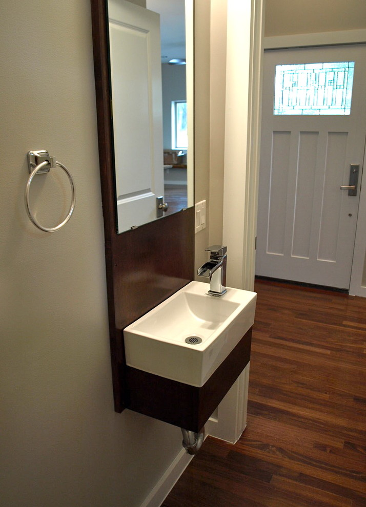 Awesome Small Powder Room Sinks Bathroom Transitional with None small powder room sink vanities