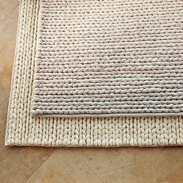 Awesome Targetu0027s Home Chunky Braid Wool Rug 5u0027x7u2032 - $149.99 chunky braided wool rug