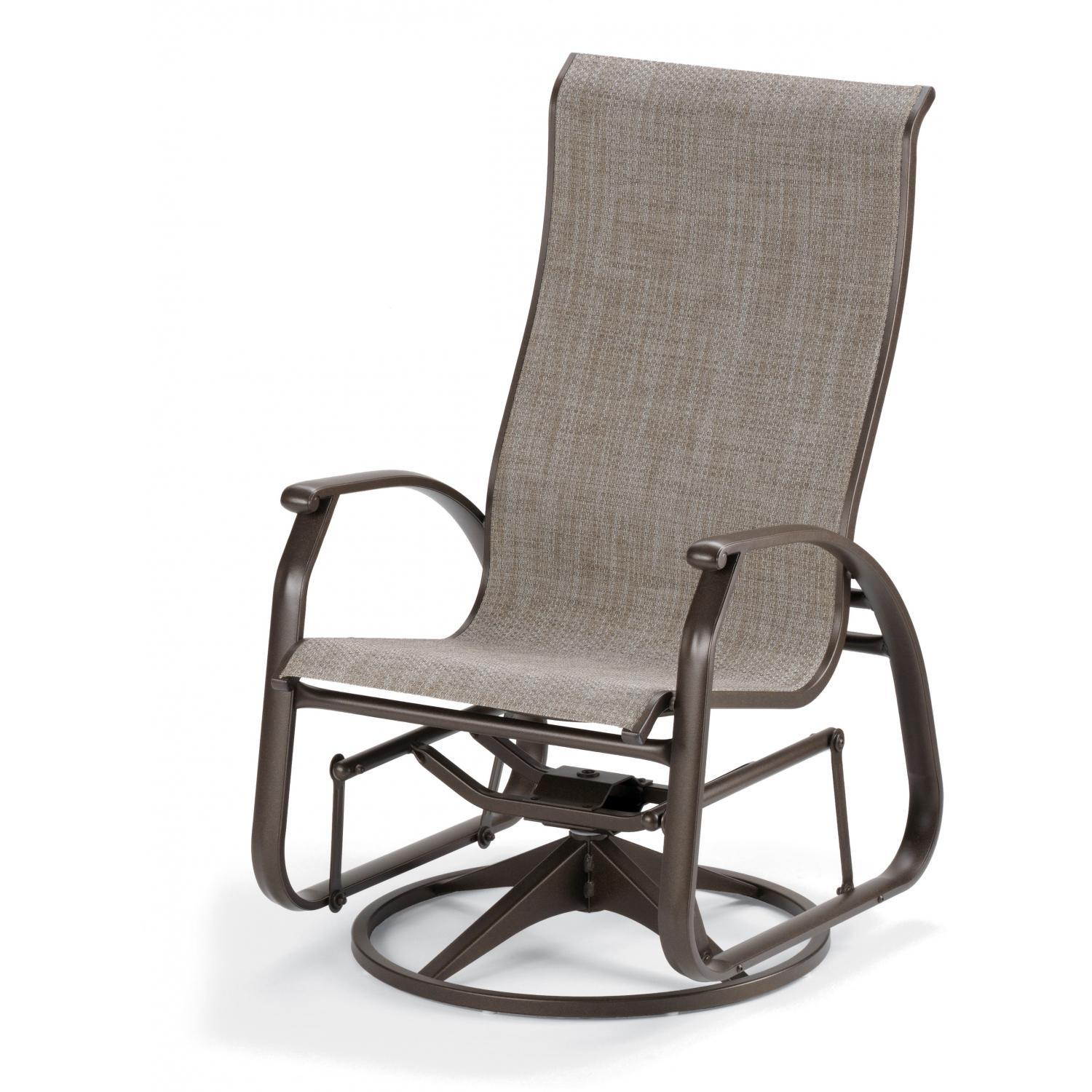 Awesome Telescope Casual Cape May Sling Supreme Swivel Glider swivel glider patio chairs