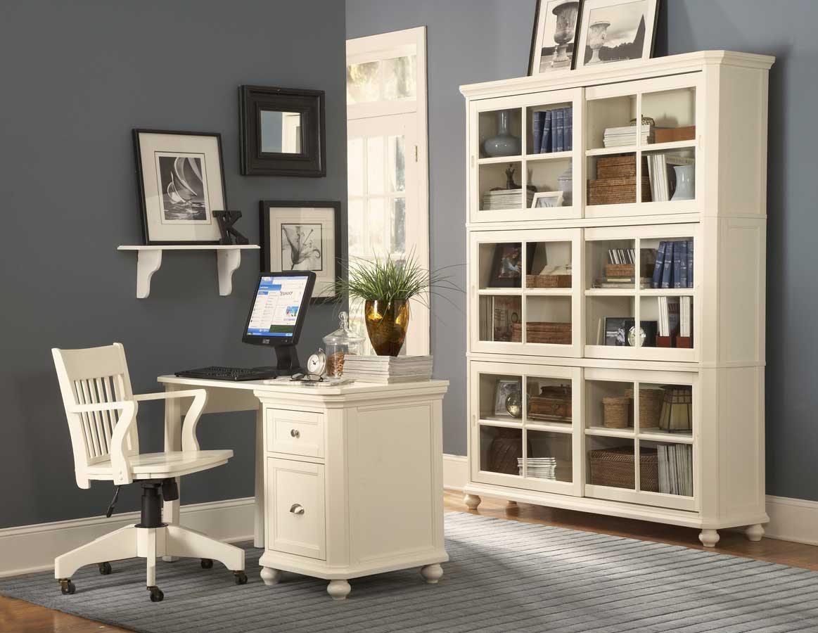 Awesome white office bookcase. white office desk design with bookcase support ideas  n white office bookshelves