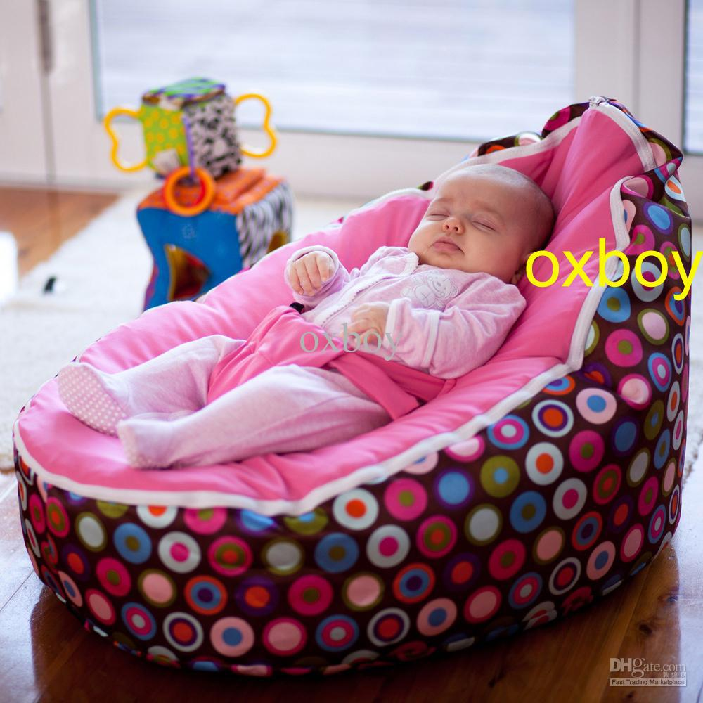 Elegant Stylish Bubbles Pink Seat Baby Beanbag Chair,new Born Baby Toddler Sofa for baby sofa seat