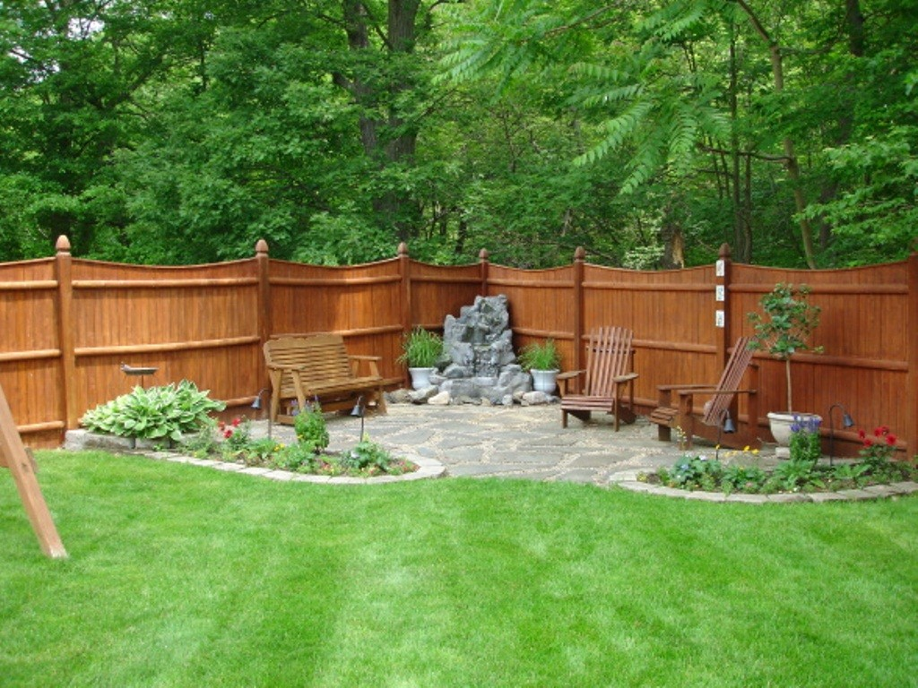 Create a beautiful look of house backyard with unique backyard patios