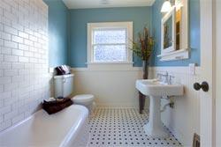 Cozy bathroom redesign blue bathroom renovation ideas on a budget