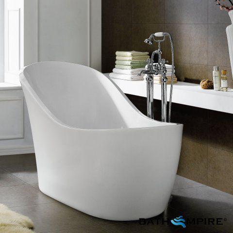 Beautiful 1520x740mm Nyos Freestanding Bath - Small - BathEmpire small freestanding baths