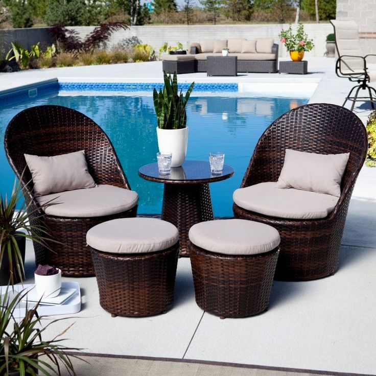 Beautiful 25+ best ideas about Small Patio Furniture on Pinterest   Apartment patio small outdoor table