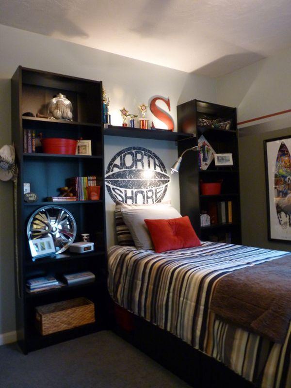 Beautiful 40 Teenage Boys Room Designs We Love teen boy room decor