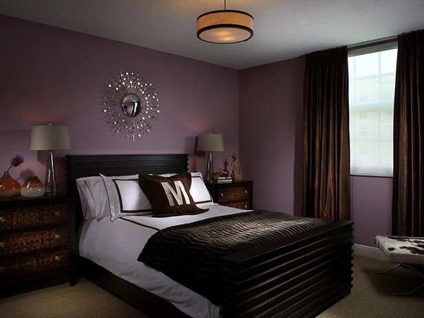 Beautiful 8 Window Treatment Ideas for Your Bedroom purple bedroom ideas master bedroom