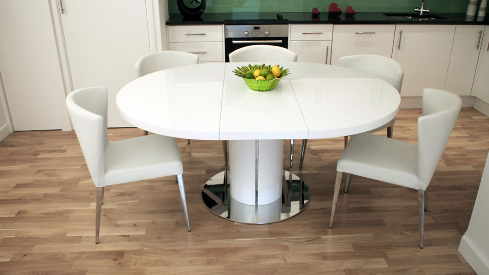 Beautiful ... Amazing of White Extending Dining Table And Chairs Small Space Dining extending dining table and chairs