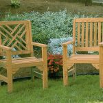 Complete the look of your garden with wooden garden chair