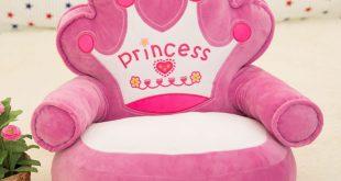 Beautiful ... Baby Plush Chair and Seat Princess Pink Kids Beanbag Chair Cartoon baby sofa seat