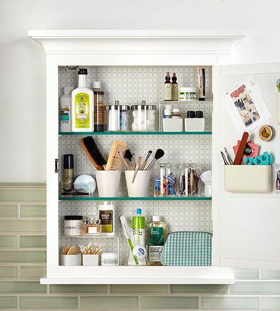 Beautiful Bathroom Medicine Cabinet Organization Maximize your medicine cabinet with  these tips and bathroom cabinet organizers