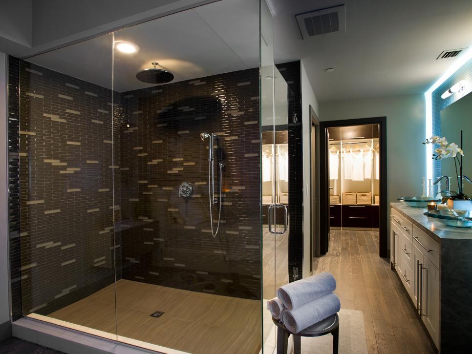 Beautiful Bathroom Shower Designs   HGTV bathroom shower remodel