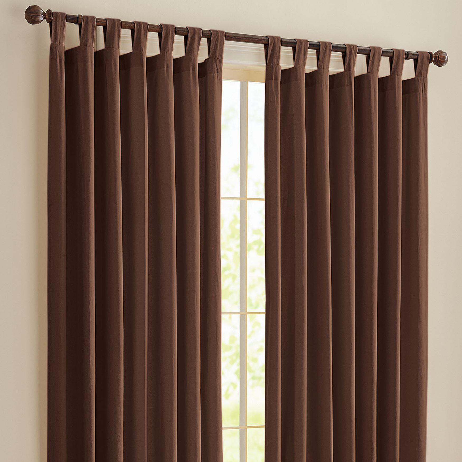 Beautiful BrylaneHome® Studio Canvas Tab Top Curtain | Curtains u0026 Drapes | Brylanehome tab top curtains