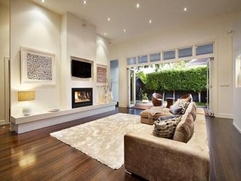Beautiful Cream living room idea from a real Australian home - Living Area photo lounge area decor ideas
