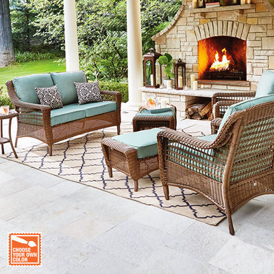 Beautiful Customize Your Patio Set wicker outdoor furniture
