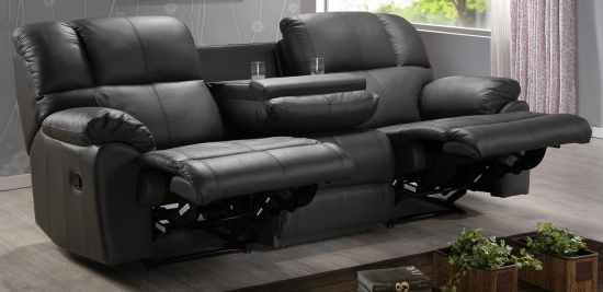 Beautiful Find a Leather Recliner Suites in Perth on Merrys Furniture Osborne Park. 3 seater recliner sofa