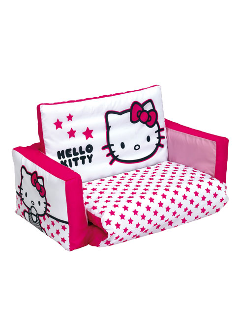 Beautiful hello kitty baby room sofa bed for baby