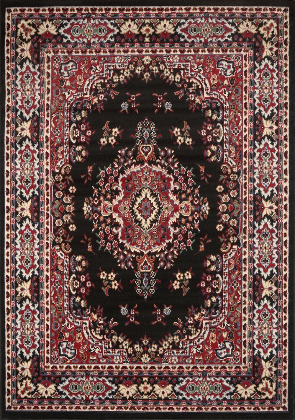 Beautiful Large-Traditional-8x11-Oriental-Area-Rug-Persian-Style- large traditional rugs
