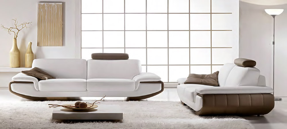 Beautiful leather sofas 3 seater Nirvana italian leather sofas