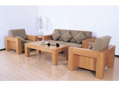 Beautiful Modern Wooden Sofa Set Designs wooden sofa set designs