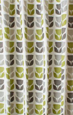 Beautiful Poppypod Eucalyptus Made to Measure Curtains retro style curtains
