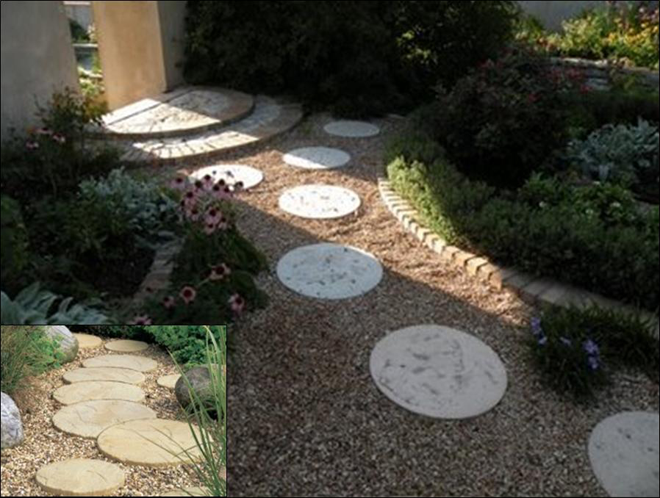 Beautiful Round Patio Stone and Moon Stone circular patio stones