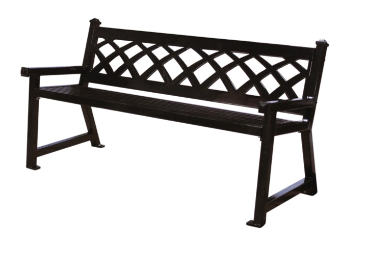Beautiful Sawgrass Metal Bench outdoor metal benches