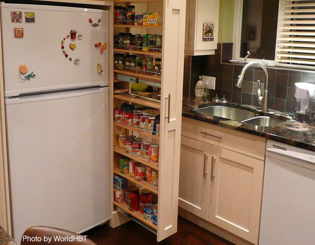Beautiful Small kitchens Pullout Pantry kitchen pantries for small kitchens