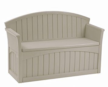 Beautiful Suncast PB6700 Patio Bench, Light Taupe suncast patio storage bench